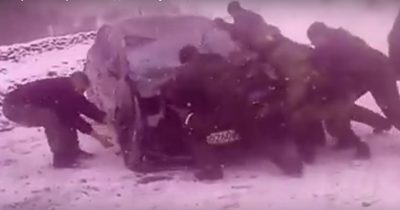 Машина с красноярскими спортсменками перевернулась по дороге в Шерегеш