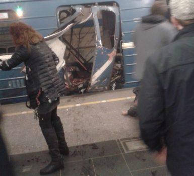 СМИ: теракт в метро Петербурга совершил смертник, его личность установлена