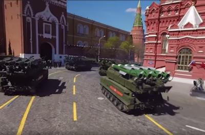 Минобороны РФ опубликовало видео репетиции парада Победы в формате 360 градусов