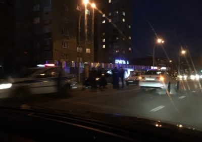 В ГИБДД рассказали подробности ДТП на Красноармейской в Кемерове