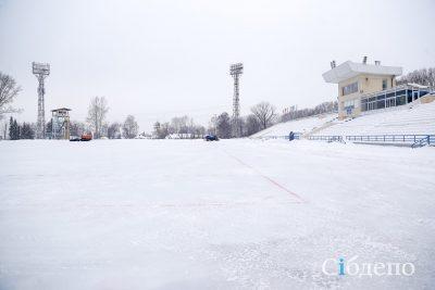 В Кемерове откроется самый большой городской каток