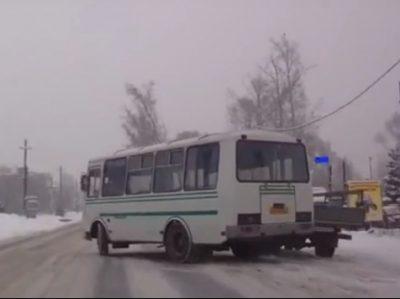 В Кемерове за нарушения ПДД оштрафовали двух водителей маршруток