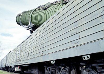 СМИ: В России приостановили разработку нового «ядерного поезда»