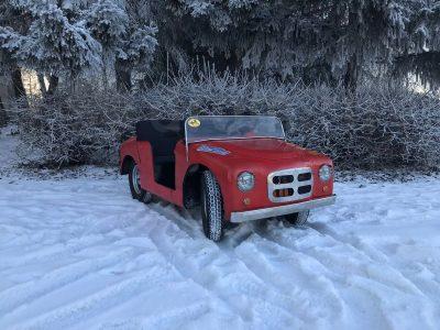 Житель Барнаула продаёт эксклюзивное детское авто за 250000 рублей