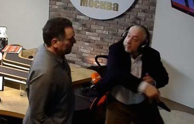 Николай Сванидзе пообещал больше не бить Максима Шевченко