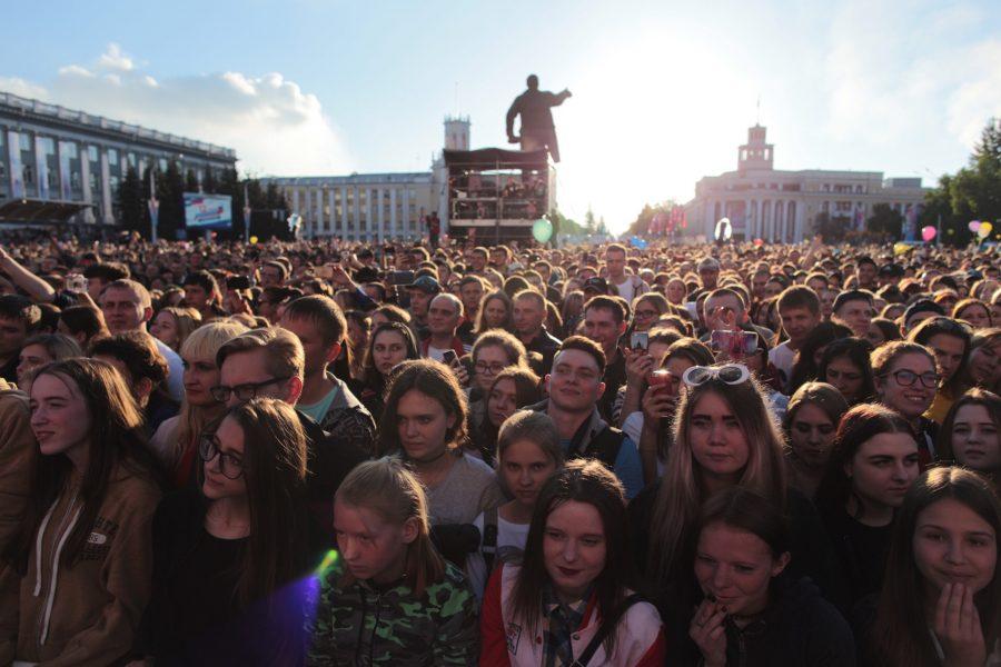 Праздничный концерт, приуроченный к 100-летию Кемерова, посетили больше 100 тысяч человек