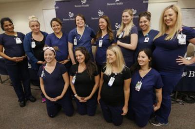 В американской больнице забеременели сразу 16 медсестёр