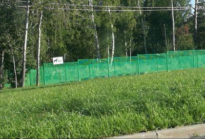 В Кемерове на Лесной Поляне появилась площадка для дрессировки собак