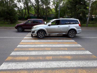 В Кемерове нетрезвый водитель сбил ребёнка на пешеходном переходе