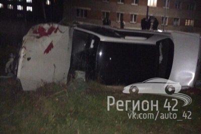 В серьёзном ДТП в Тайге чудом выжили двое мужчин