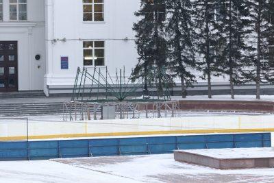 На главной площади Кемерова скоро появится огромная новогодняя ель