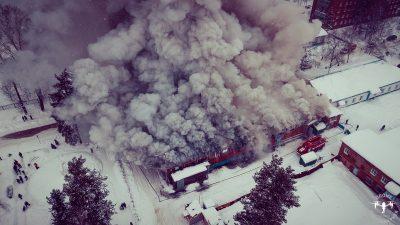 Почему вчера горел кузбасский рынок