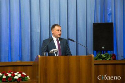 «С наступающим Новым годом, кемеровчане!»: видеопоздравление Ильи Середюка