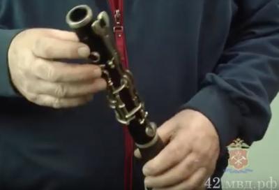 У кемеровчанина украли кларнет. Не Карл