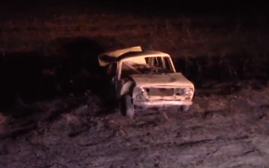 Пассажир вылетел через окно: видео страшного смертельного ДТП в Кузбассе