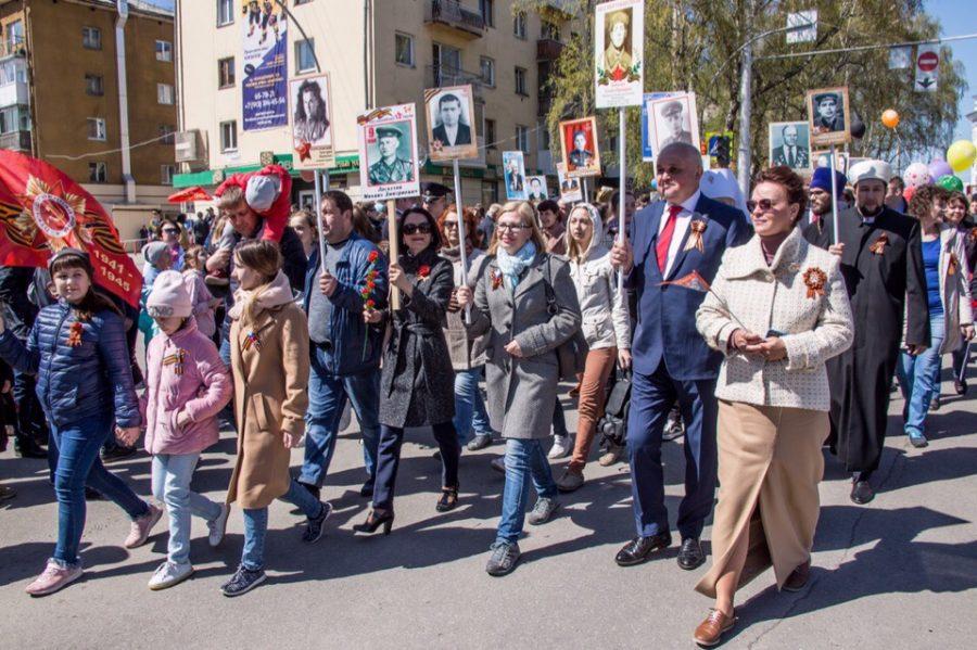 Губернатор Кузбасса поздравил жителей региона с Днём Победы