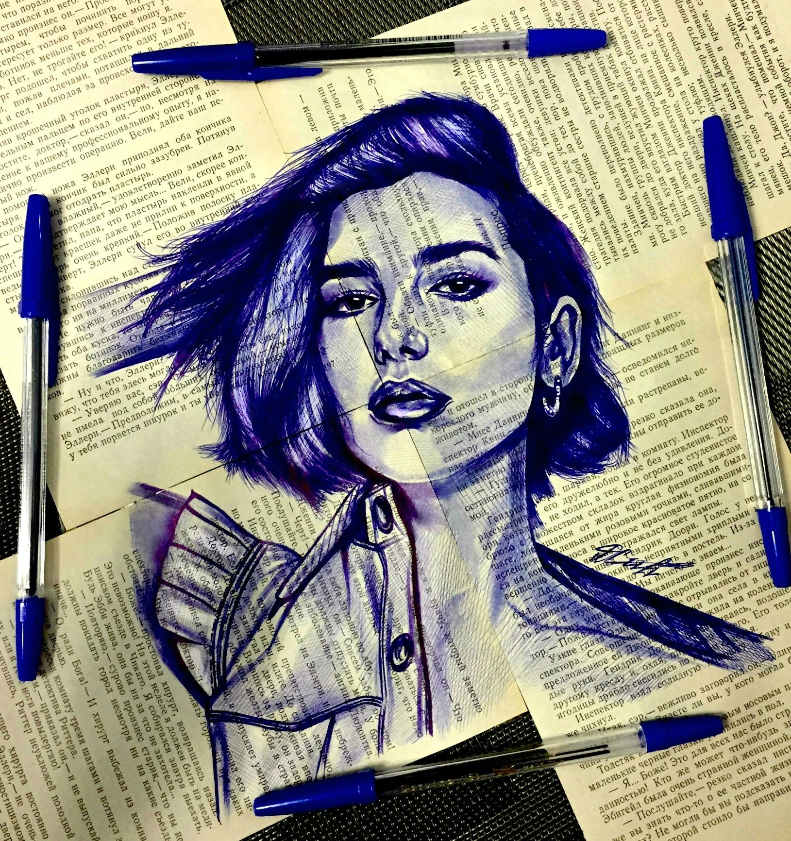 красивые рисунки шариковой ручкой для начинающих надо быть крайне