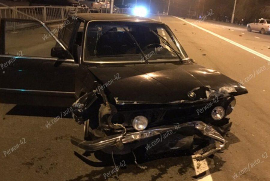 Кто устроил страшное ДТП с раритетным BMW в Кемерове?