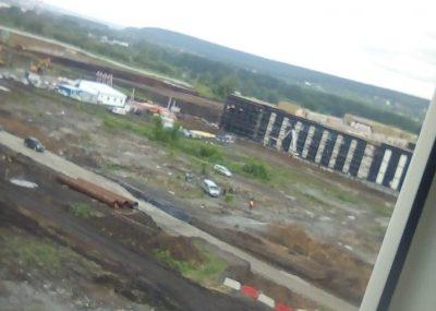 Фото: в Кемерове рядом с будущим кадетским училищем нашли труп