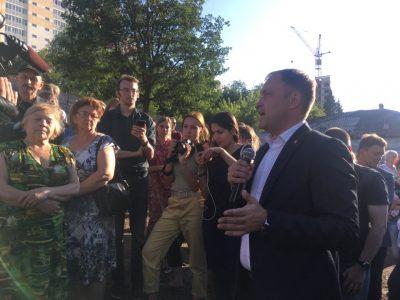 «Я боюсь назвать жёсткий срок»: Илья Середюк о новой поликлинике и цифровой школе в Кемерове