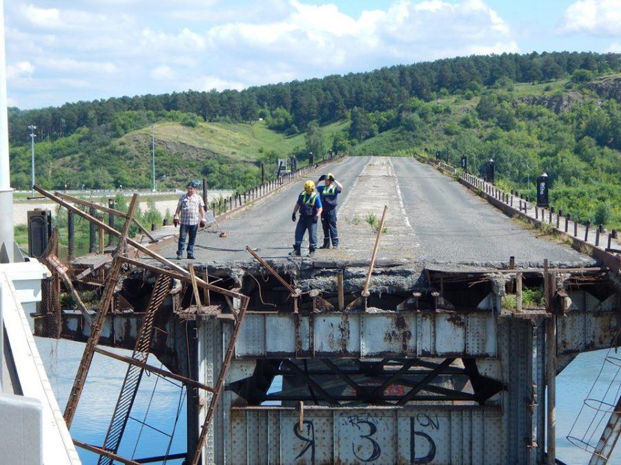 Видео: в Кемерове начали разбирать старый мост?