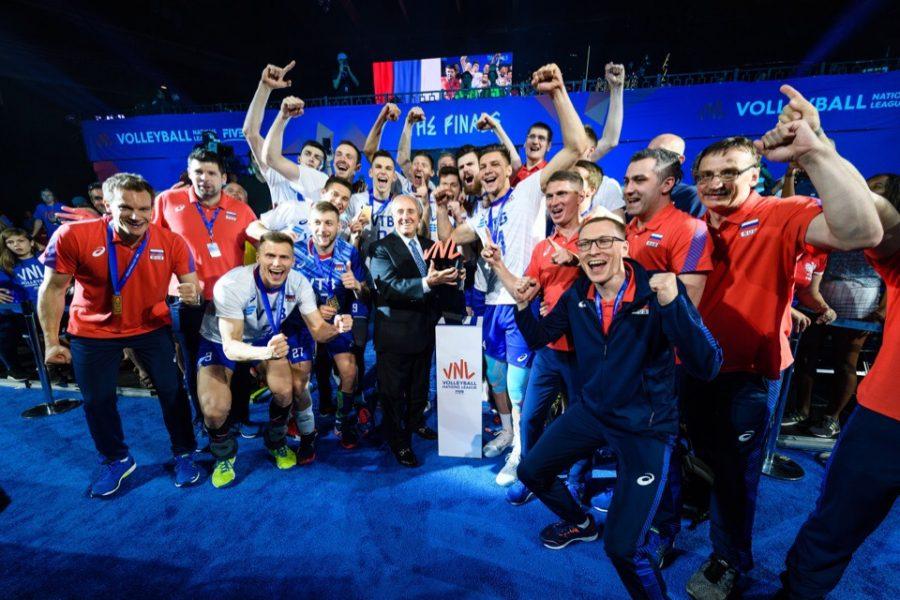 Видео: кемеровские волейболисты «похоронили» сборную США и взяли титул