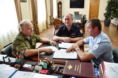 Зачем начальник кузбасской полиции встретился с командиром войск Росгвардии?