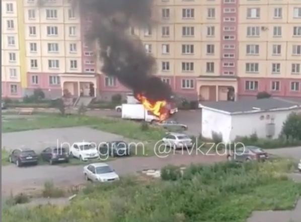 Видео: кузбассовец лишился автомобиля