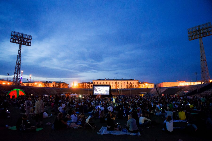 15 тысяч кузбассовцев посмотрели фильм под открытым небом