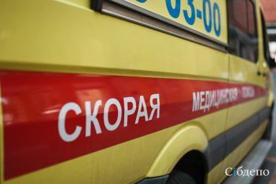В Кузбассе женщина упала с 5 этажа