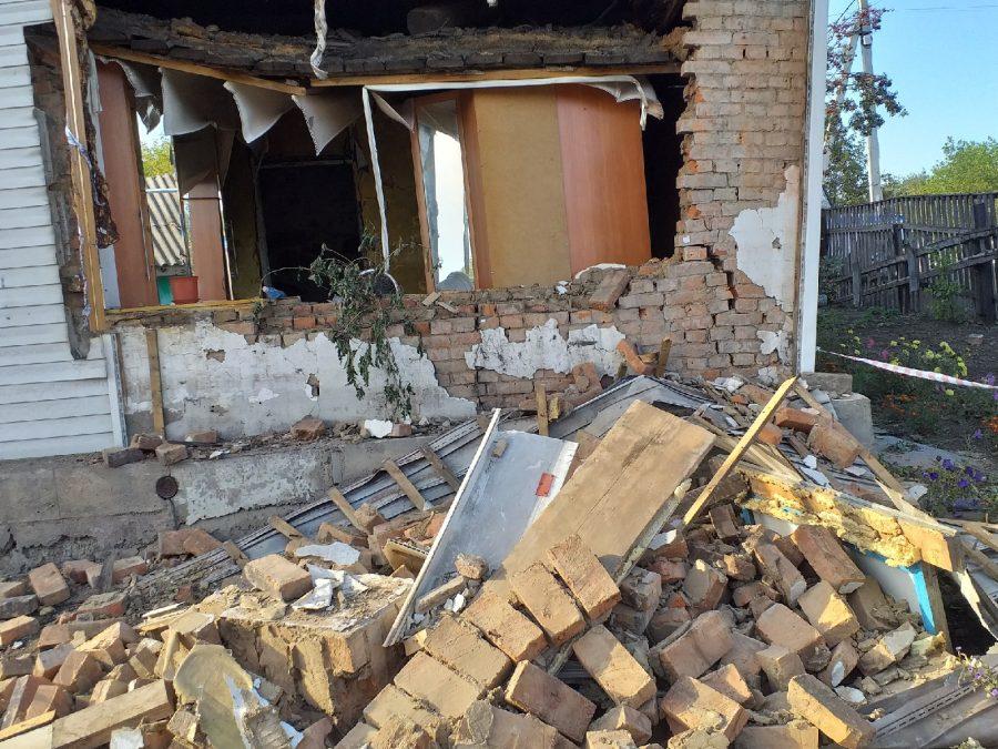 В Кузбассе умерла хозяйка дома в котором взорвался газ