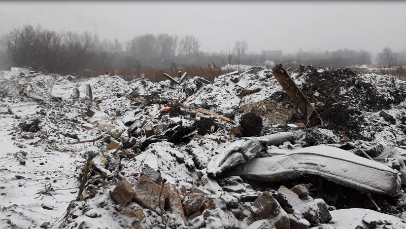 В Кемерове полицейские нашли незаконную свалку