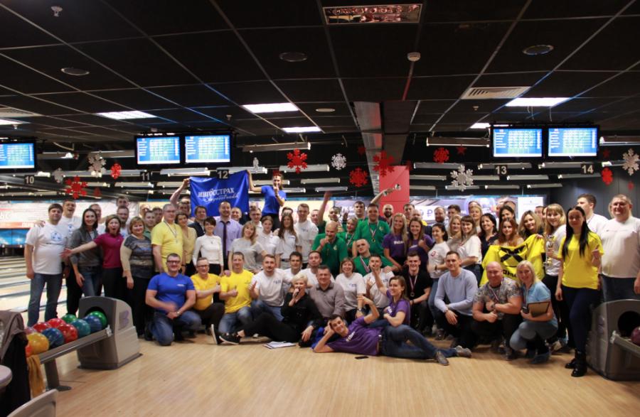 Россельхозбанк занял первое место в III турнире по боулингу среди финансистов Кемерова