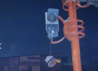 Кемеровский «Халк» с топором напал на светофор