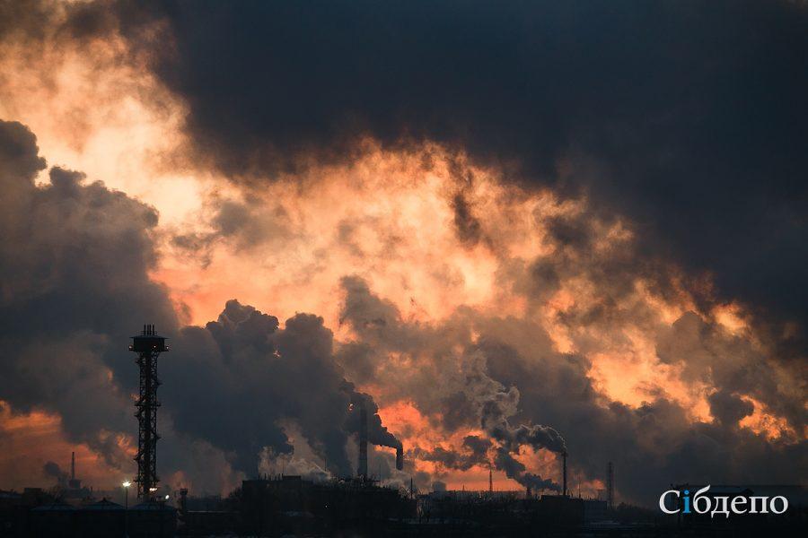 Роспотребнадзор: в воздухе Кемерова и Новокузнецка в три раза превышен уровень загрязняющих веществ