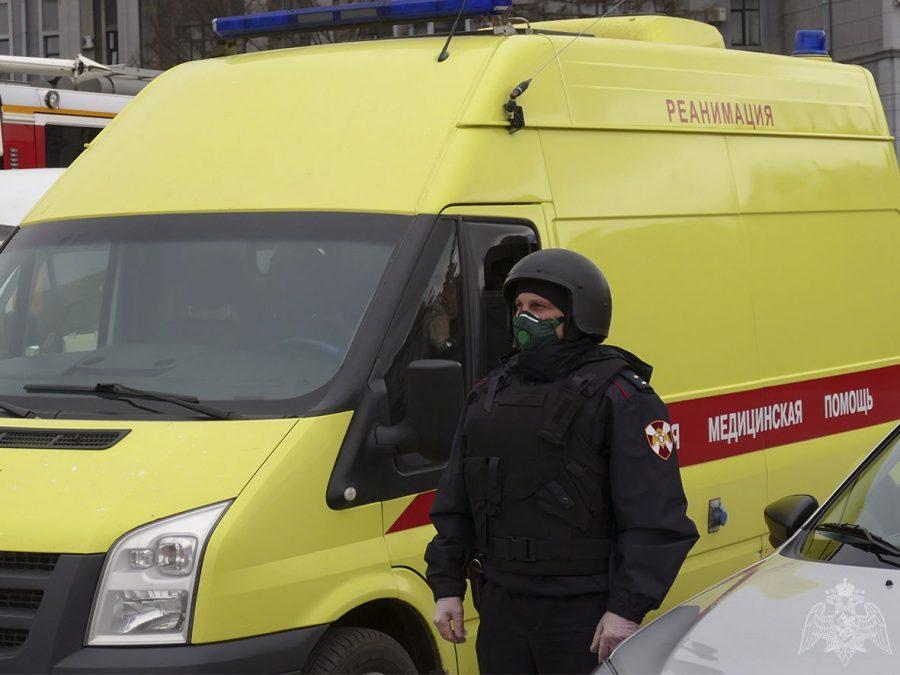 В Кузбассе машины скорой помощи будет охранять Росгвардия