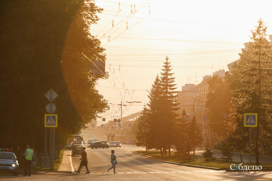Кузбассовцев ждёт аномально жаркий конец рабочей недели