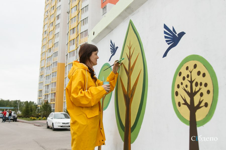 В Кузбассе стартовал фестиваль граффити
