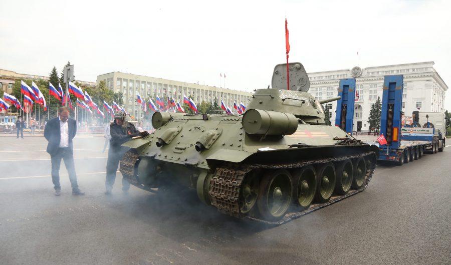 Администрация Кемерова оценила ущерб после прохода танка