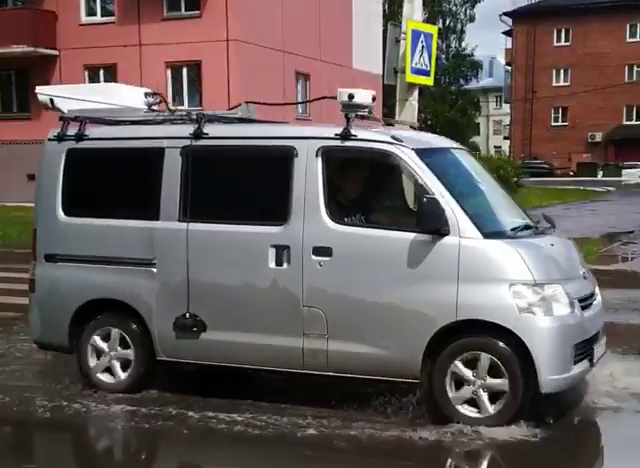 В Новокузнецке дороги просветят, измерят и заснимут