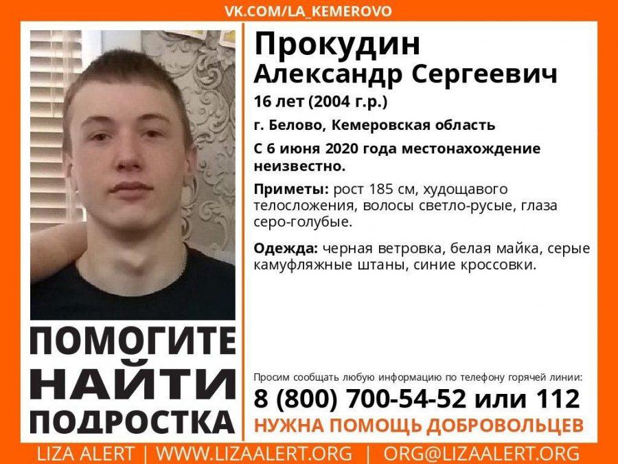 Пропажей подростка в Белово заинтересовался Cледственный комитет