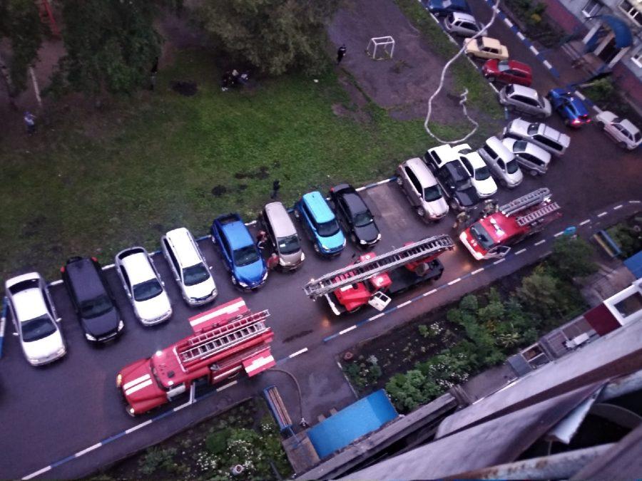 В Новокузнецке на пожаре спасли пять человек