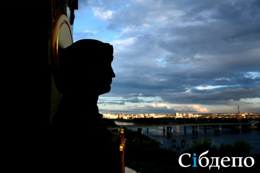 Кемерово, город под облаками: снимки непогоды с городских улиц