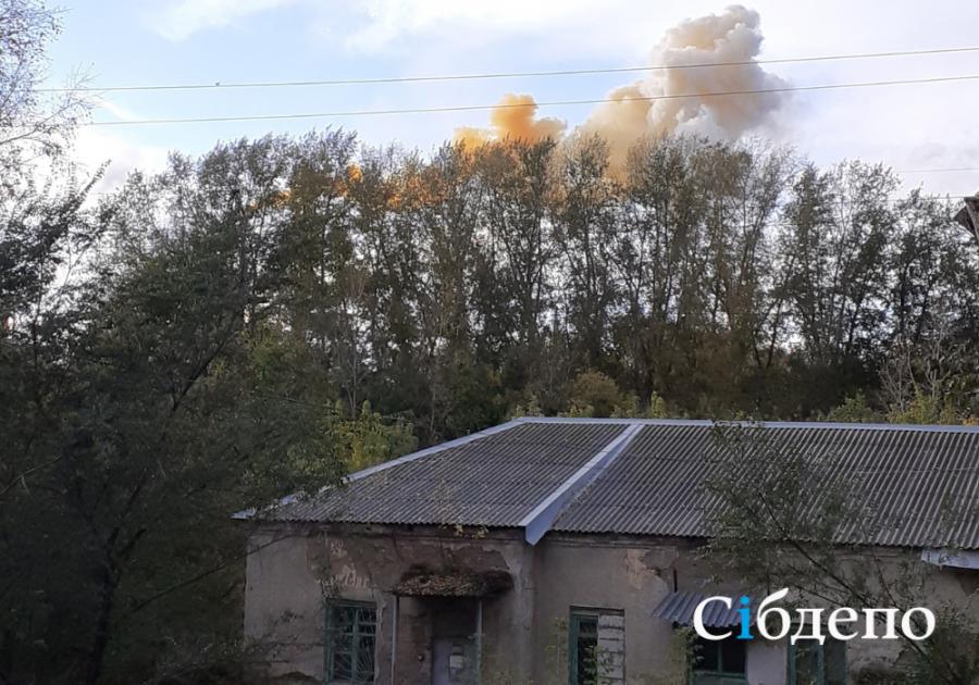300 квадратов, 120 пожарных: в МЧС рассказали подробности пожара на «Азоте»