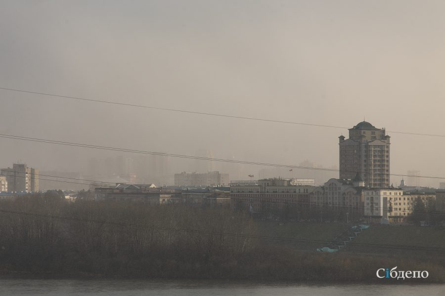 Фото: битва осени и зимы в Кемерове